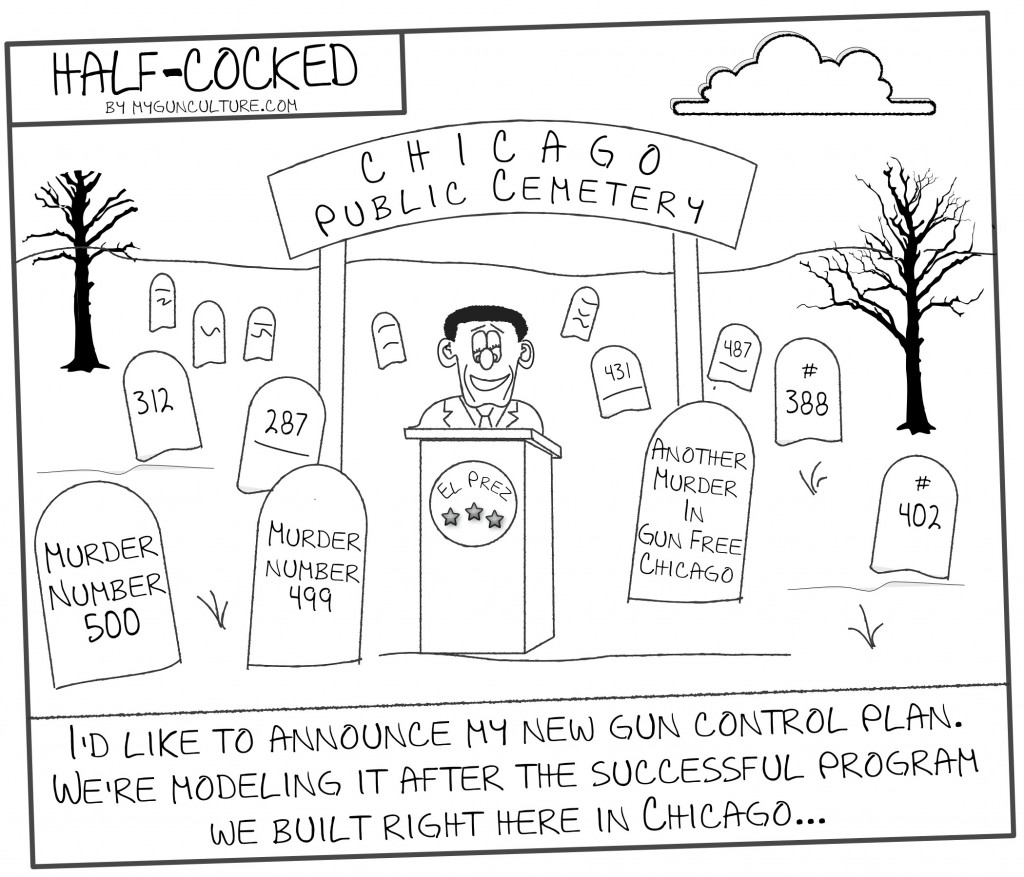 Half-Cocked: Obama Announces New Gun Control Plan In Hometown Of Chicago