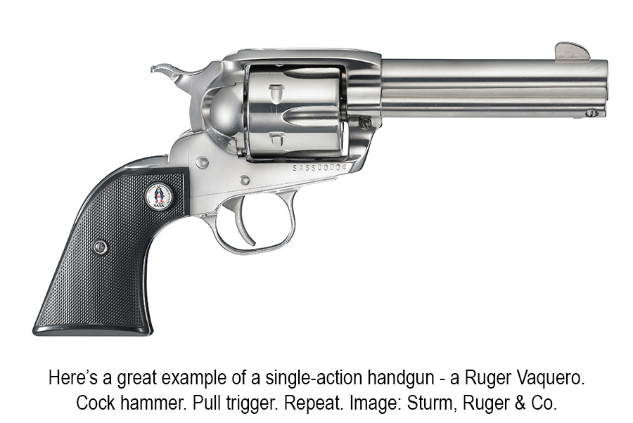 Ruger single-action revolver