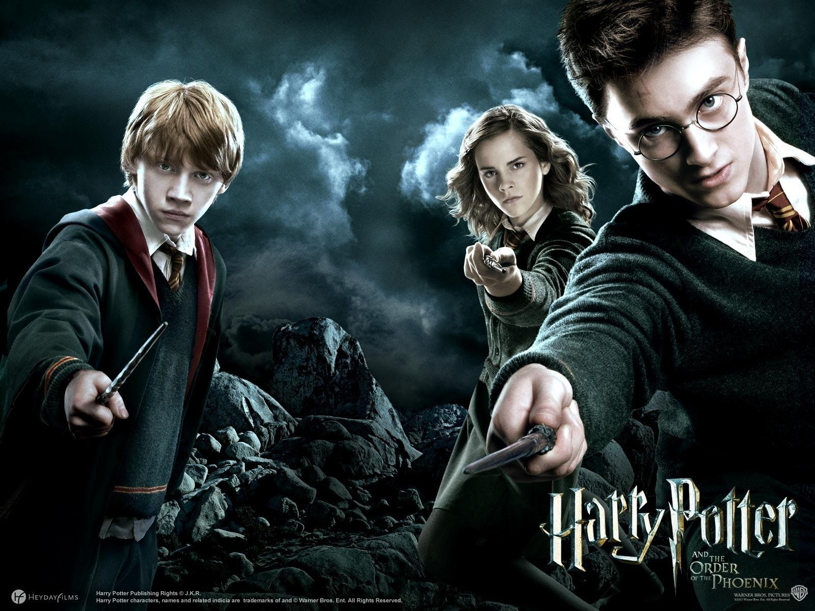 The Weapons of Harry Potter