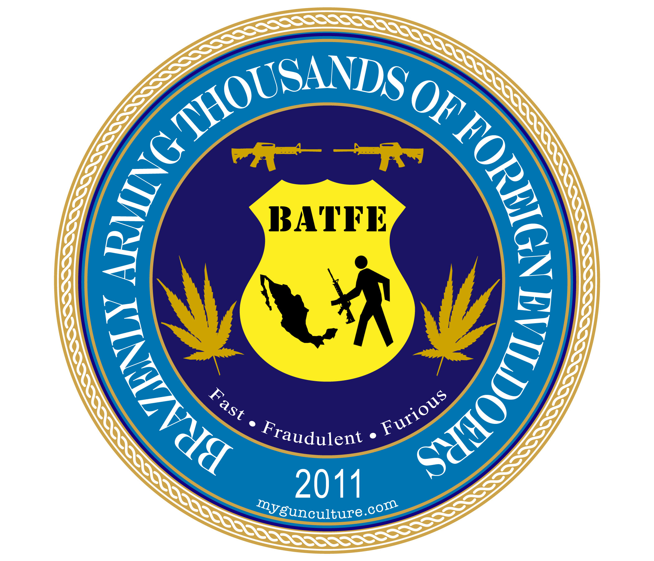 ATF / BATFE new logo
