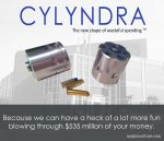 CYLYNDRA – The new shape of wasteful spending