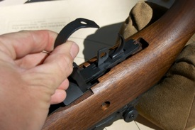 Springfield Armory M1A trigger system removal