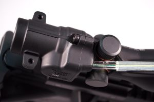 Like classic ACOG's, the 300 Blackout model features dual illumination sources: fiber optic and tritium.