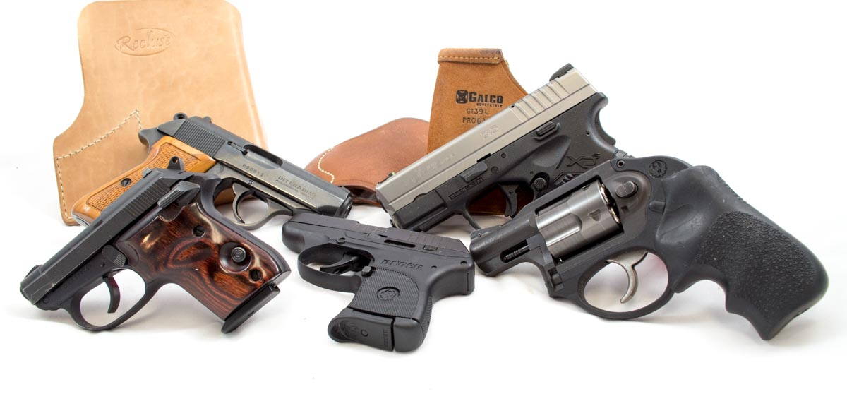 These are all handy carry pistols, but will they be effective without practice?