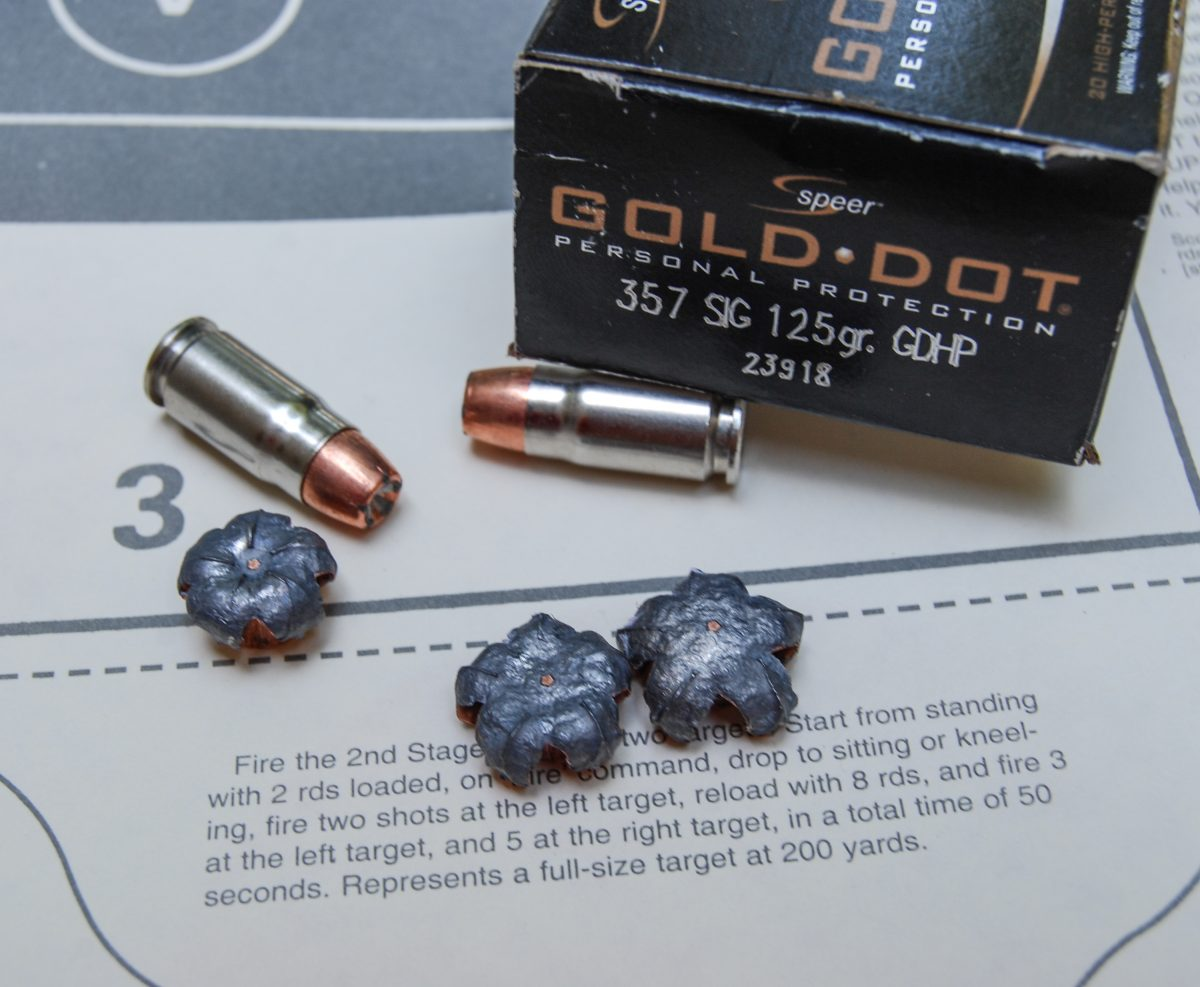 This is Speer's 125-grain Gold Dot ammunition.
