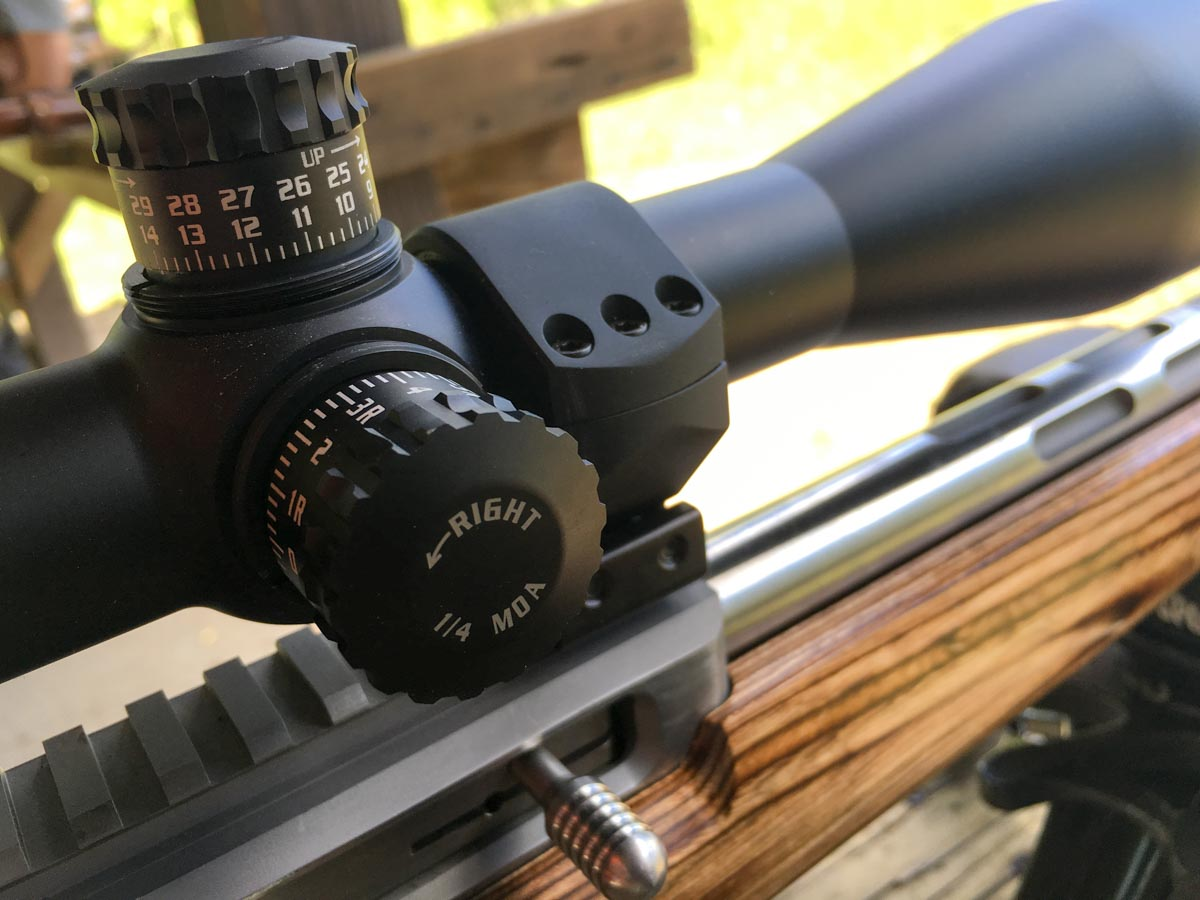 When you mount a new optic, step one is to zero the scope.