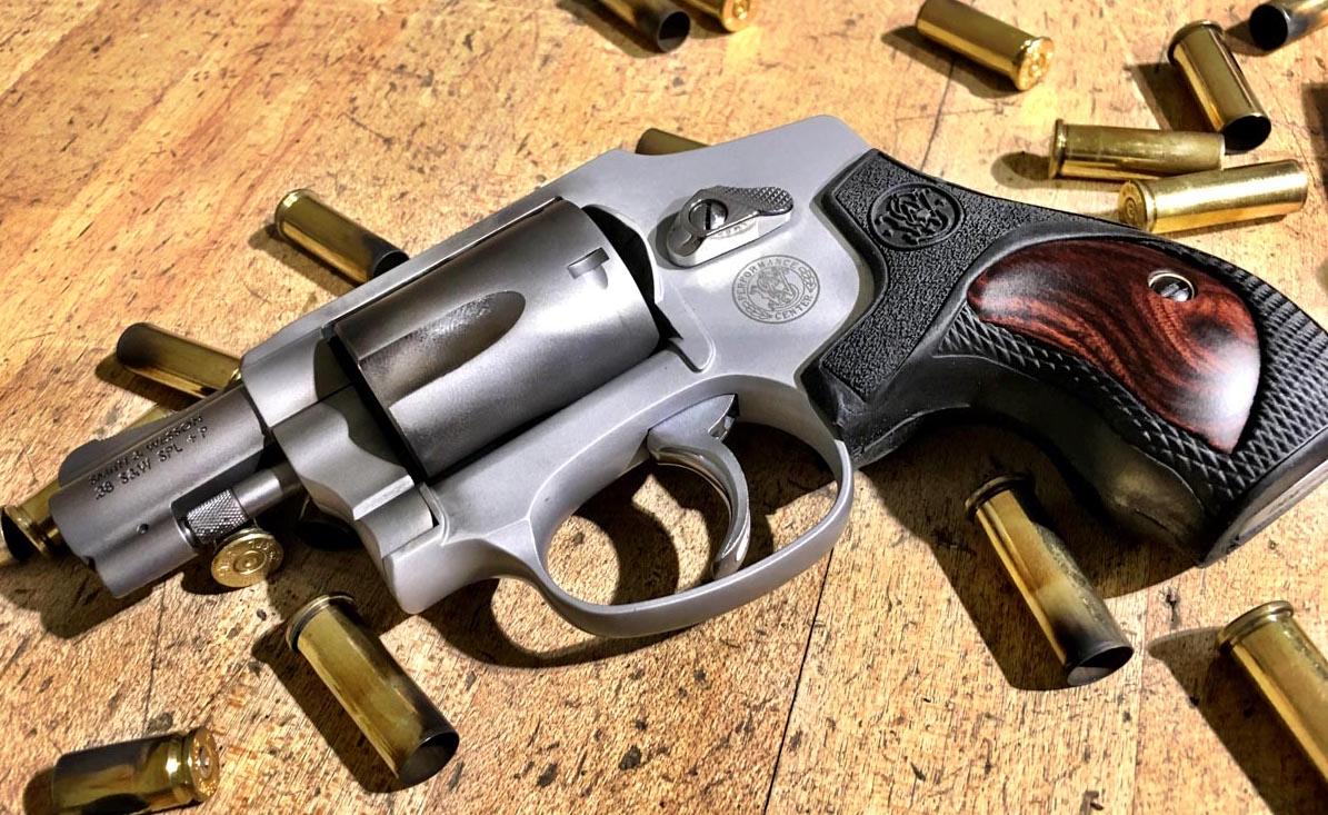Smith & Wesson's Performance Center Model 642 features both cosmetic and functional upgrades.
