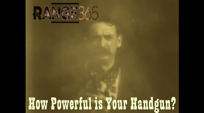 How powerful is your handgun?
