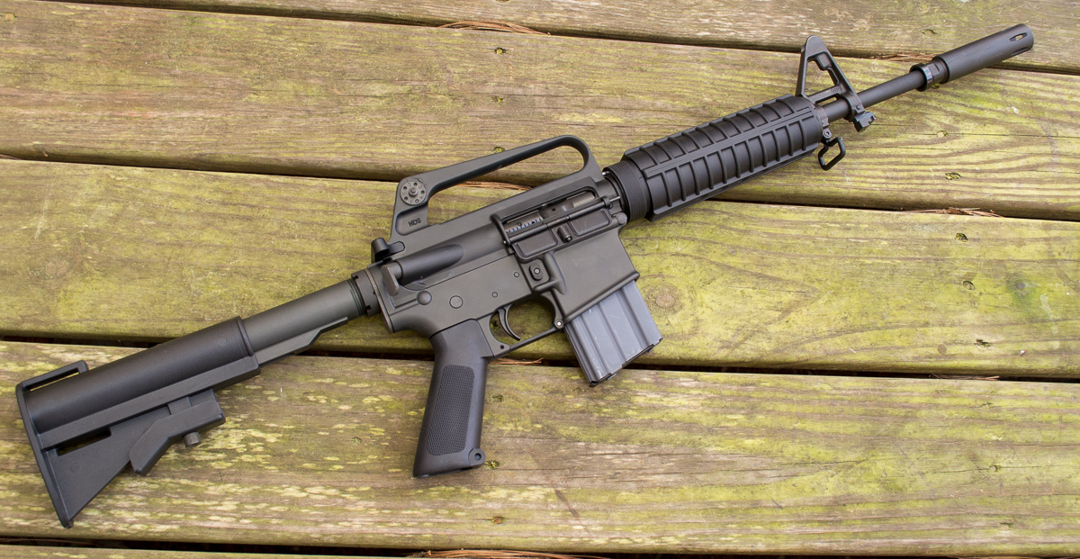 The Brownells XM177 E2 is all new but modeled after the original Colt Commando.